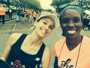 Jailbreak Half Marathon Starting Line Selfie