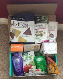 October Fit Snack Box