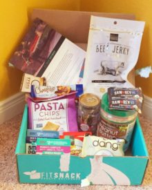november fit snack box