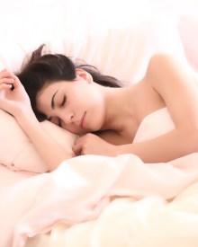 Sleep affects training. I don't look this good when I sleep.