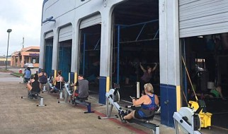 Does CrossFit Make You Bulky? Rowing picture