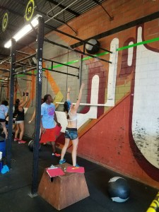 crossfit competition wallballs
