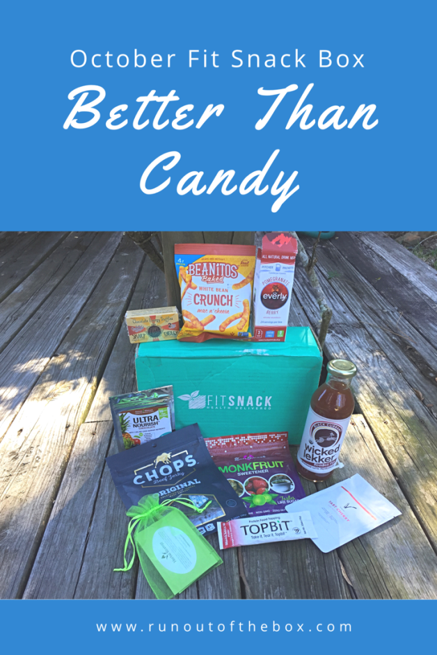The October Fit Snack Box featured some great treats! Check out my review, and subscribe using my link!