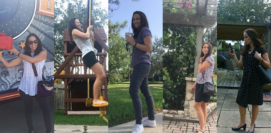 Athleisure Capsule Wardrobe Challenge - 5 outfits from the 7 days
