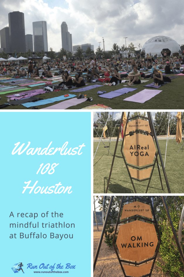 At Wanderlust 108 Houston, participants enjoyed a mindful triathlon at Buffalo Bayou Park. Did I? Read on to find out what this hardcore runner and CrossFitter thought of the day of running, yoga, and meditation. #yoga #running #meditation #mindfulness #wanderlust108