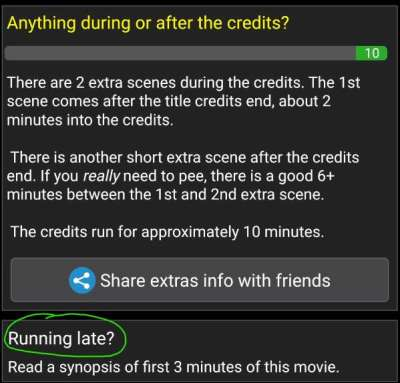 Help - Running Late