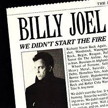 Billy joel we didn't start the fire (with lyrics) youtube.