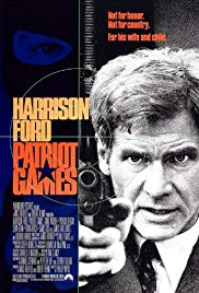 classic patriot games with harrison ford