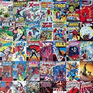 comic book covers of superheroes from Stan Lee