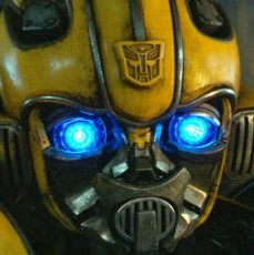 bumblebee is a quiet and yellow transformer bot