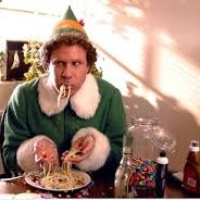 Will Ferrel from Elf, and the four food groups.