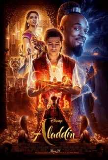 aladdin disney live action poster