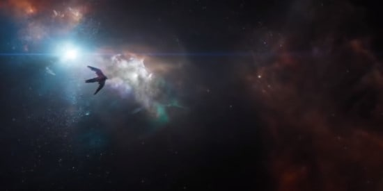 The Bentatar stranded in space in Endgame
