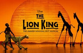 The lion king broadway poster