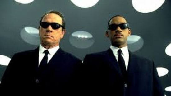 Men in black tommy lee jones and will smith