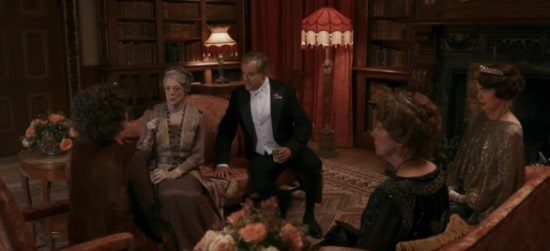 downton abbey lord grantham and family