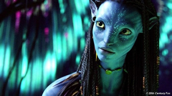 Na'vi girl in avatar