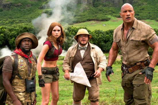 cast of jumanji 2 and 3