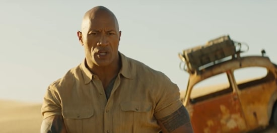 jumanji 3 the rock