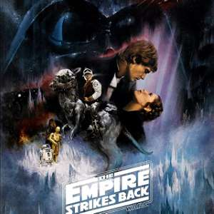 the empire strikes back vintage poster
