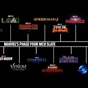 Marvel Cinematic Universe will release four movies in last five months of 2021