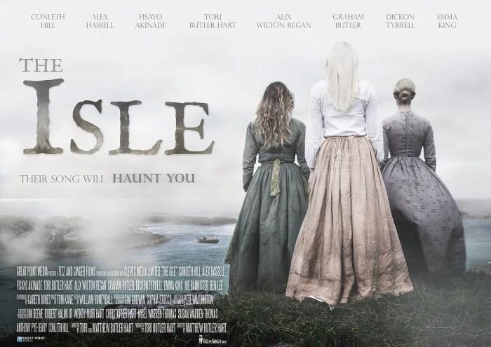 The-Isle-movie-film-horror-British-2019-poster