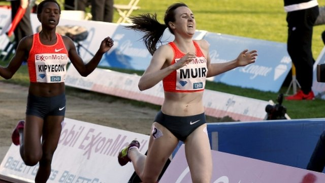 Muir has lots of experience of success, winning the Oslo Diamond League