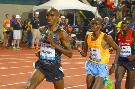Farah has already shown he is the one to beat in 2015