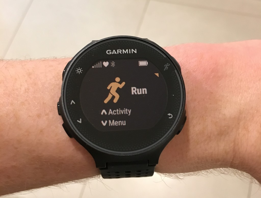 'Run' Activity Page