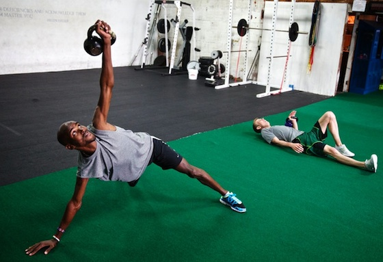 Strength training is key to all athletes