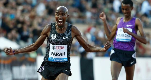 Farah has beaten Kejelcha before