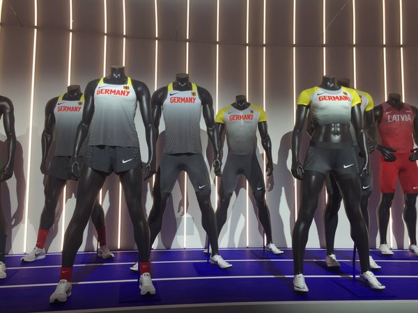 Germany and Kenya's Nike Athletics kit for Rio