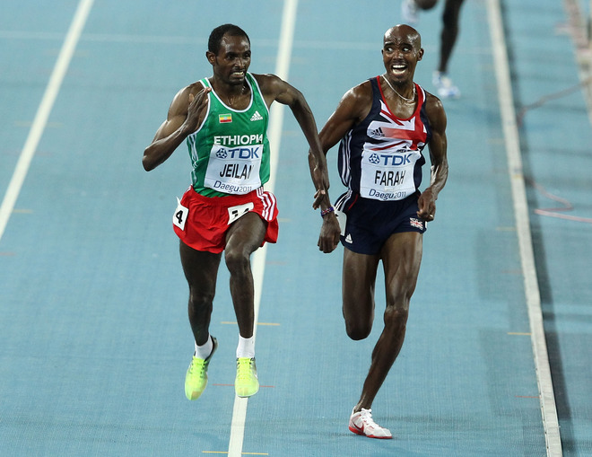 Farah claims losing to Jeilan in 2011 was the most important lesson he ever learnt
