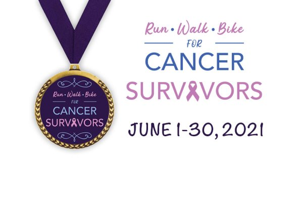 Cancer Survivors Virtual Run/Walk/Bike