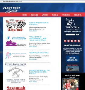Fleet Feet RunSignUp Kiosk