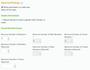 Simple Team Customization