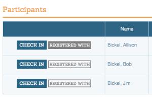 Linked Registrations