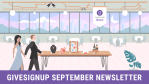 GiveSignup September Newsletter