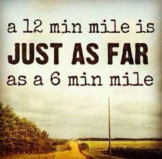 12 minute mile
