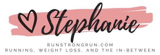 Love Stephanie of runstrongrun.com