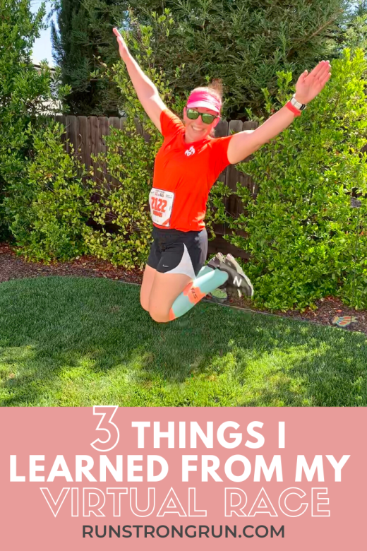3 Things I Learned From my Virtual Race