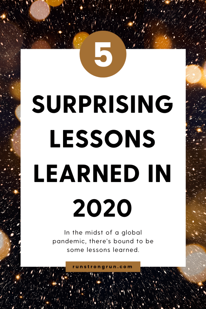 5 surprising lessons learned in 2020