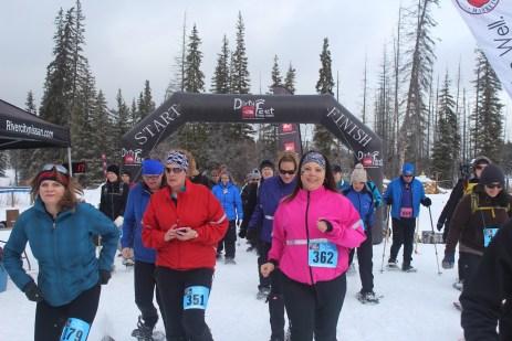Monica, Krista, Trisha and Shawna - Photo by Dirty Feet Trail Races