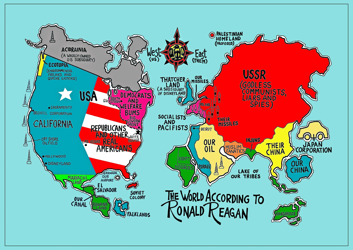 35 Funny Maps That Would Have Actually Made Geography Fun
