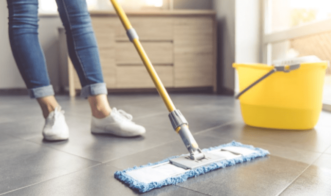 Best Way To Clean Tile Floors Without A Mop Wikizie