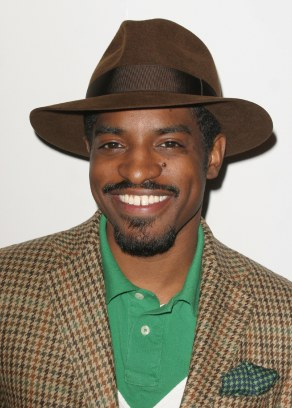 Benjamin Bixby AKA Andre 3000, Benjamin Bixby aka 'Andre 3000' launch party at Harrods for his fashion range London, England - 17.09.08 Credit: (Mandatory): WENN