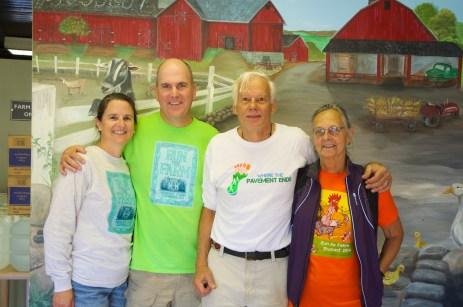 Ciorsdan Conran, Rob Cummings, Tony and Judy Godino