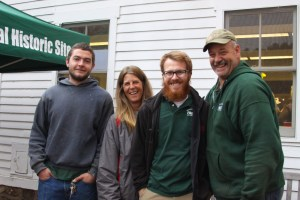 Brian, Brenda, Jonathan, and. Muscoot Farm park staff.