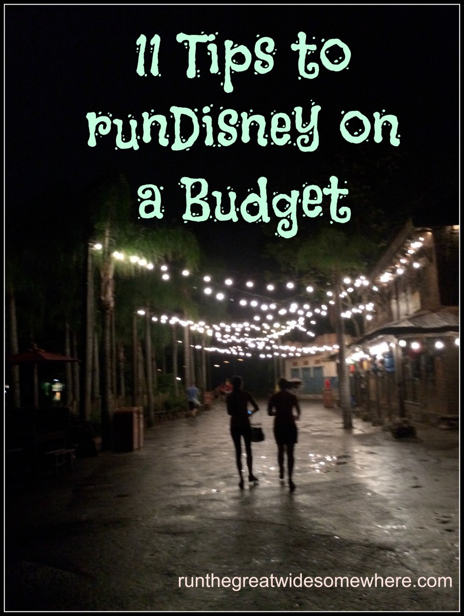 runDisney on a Budget: Tips and Tricks
