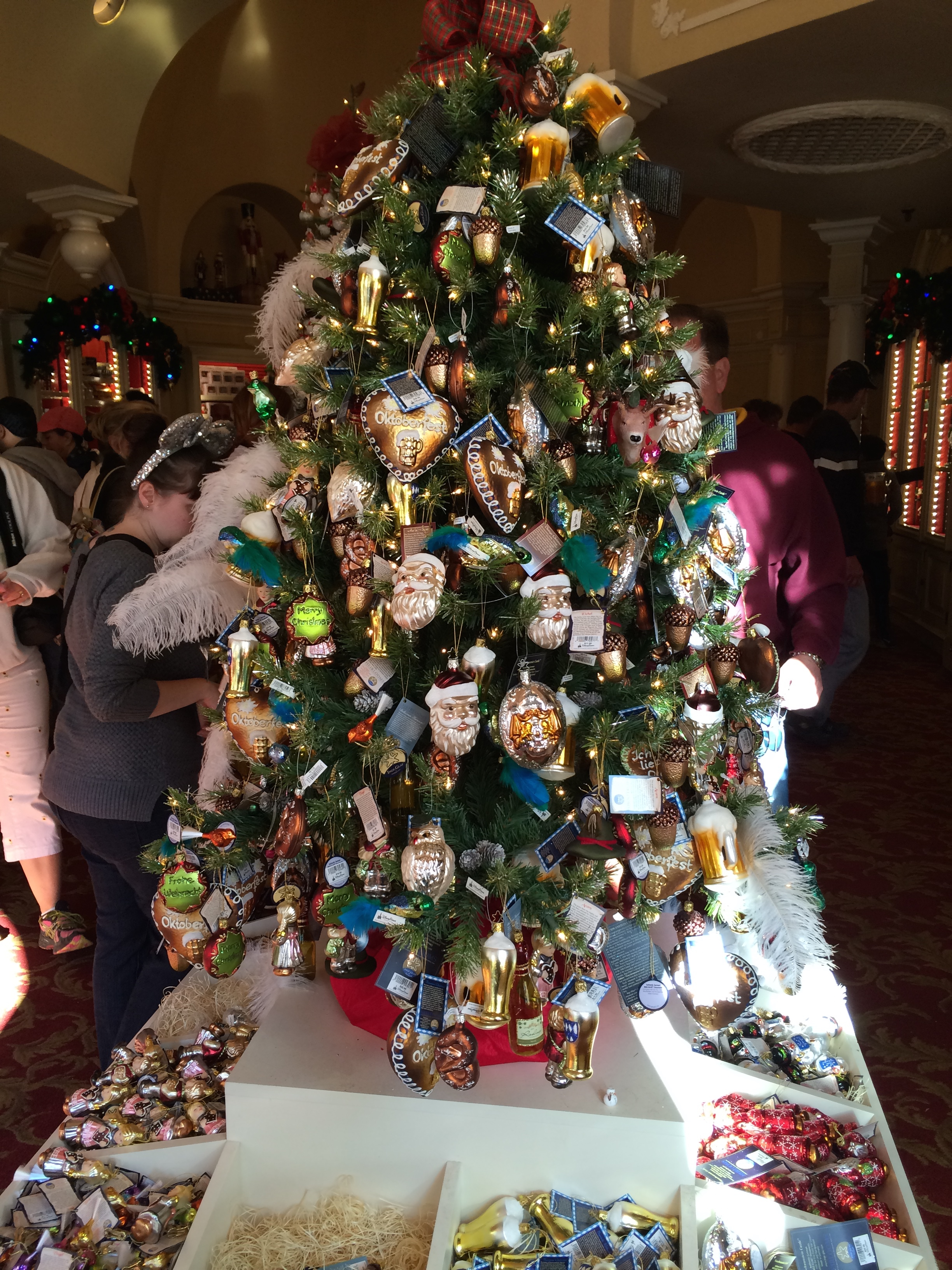 Holiday Decorations at Walt Disney World Resort - Run The Great Wide Somewhere